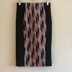 Charlotte Russe Long Pencil Skirt